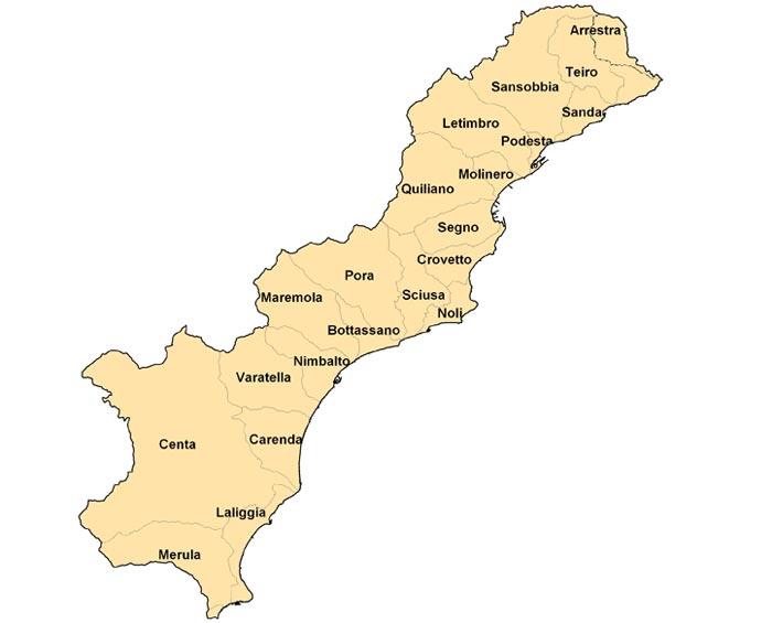 Piani di bacino della provincia di savona sito ufficiale - Regione liguria certificazioni energetiche ...